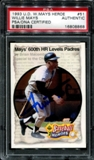 1993 Upper Deck Baseball Heroes #51 Wille Mays Auto PSA/DNA (Authentic) *8868