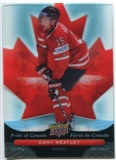 2009/10 McDonald's Upper Deck Pride of Canada #PC1 Dany Heatley