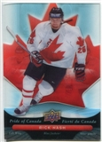 2009/10 McDonald's Upper Deck Pride of Canada #PC4 Rick Nash