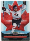 2009/10 McDonald's Upper Deck Pride of Canada #PC8 Mike Green
