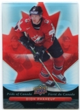 2009/10 McDonald's Upper Deck Pride of Canada #PC11 Dion Phaneuf