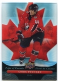 2009/10 McDonald's Upper Deck Pride of Canada #PC12 Chris Pronger