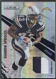 2010 Rookies and Stars Longevity #121 Darren Sproles Materials Patch #14/25