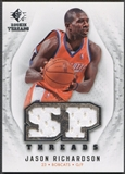 2008/09 SP Rookie Threads #TJR Jason Richardson SP Threads Jersey