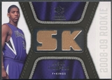 2008/09 Upper Deck SP Rookie Threads #RTJT Jason Thompson Rookie Threads Jersey