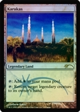 Magic the Gathering Promo Single Karakas Foil (Judge)
