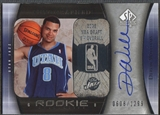 2005/06 SP Authentic #93 Deron Williams Rookie Auto #0608/1299
