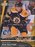 2009/10 Upper Deck #452 Brad Marchand Rookie Young Gun High Gloss Parallel #08/10