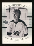 2000 Upper Deck Wayne Gretzky Master Collection US #1 Wayne Gretzky /150