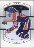 2000 Upper Deck Wayne Gretzky Master Collection US #2 Wayne Gretzky 71/150