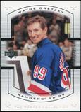 2000 Upper Deck Wayne Gretzky Master Collection US #13 Wayne Gretzky 72/150