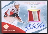 2010/11 Ultimate Collection #109 Jeff Skinner Rookie Patch Auto #03/25