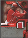 2005 Ultimate Collection #KG Ken Griffey Jr. Sluggers Patch #20/25