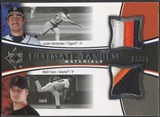 2006 Ultimate Collection #CV Justin Verlander & Matt Cain Tandem Materials Patch #08/35