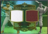 2006 Upper Deck Epic #PH Albert Pujols & Rogers Hornsby Pairings Jersey #60/99