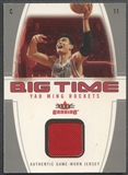 2004/05 Fleer Genuine #YM Yao Ming Big Time Game Used Jersey #36/49