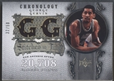2007/08 Chronology #GG George Gervin Stitches in Time Jersey #32/50