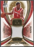 2005/06 SP Game Used #TM Tracy McGrady Authentic Fabrics Gold Jersey #056/100