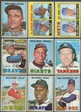 1967 Topps Baseball Complete Set (EX-MT / NM)