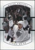 2000 Upper Deck Wayne Gretzky Master Collection Canada #11 Wayne Gretzky 149/150