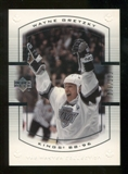 2000 Upper Deck Wayne Gretzky Master Collection Canada #11 Wayne Gretzky /150