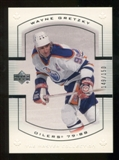 2000 Upper Deck Wayne Gretzky Master Collection Canada #4 Wayne Gretzky /150