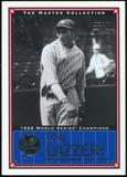2000 Upper Deck Yankees Master Collection #NYY3 Tony Lazzeri 1928 184/500