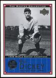 2000 Upper Deck Yankees Master Collection #NYY7 Bill Dickey 1938 184/500