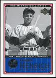 2000 Upper Deck Yankees Master Collection #NYY9 Tommy Henrich 1941 184/500