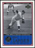 2000 Upper Deck Yankees Master Collection #NYY17 Don Larsen 1956 184/500