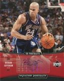 2005/06 Upper Deck UD Portraits Signature Portraits 8x10 #RJ Richard Jefferson Autograph