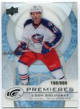 2012/13 Upper Deck Ice #27 Cody Goloubef RC /999