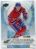 2012/13 Upper Deck Ice #28 Gabriel Dumont RC /999