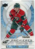 2012/13 Upper Deck Ice #29 Tyler Cuma RC /999