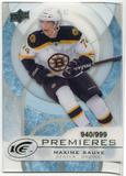 2012/13 Upper Deck Ice #31 Maxime Sauve RC /999