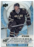 2012/13 Upper Deck Ice #36 Scott Glennie RC /999
