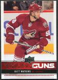 2012/13 Upper Deck #242 Matt Watkins YG RC