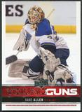 2012/13 Upper Deck #244 Jake Allen YG RC