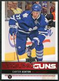 2012/13 Upper Deck #247 Carter Ashton YG RC