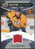 2012/13 Upper Deck Game Jerseys #GJAK Andrei Kostitsyn G