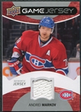 2012/13 Upper Deck Game Jerseys #GJAM Andrei Markov G