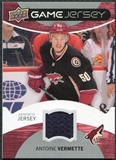 2012/13 Upper Deck Game Jerseys #GJAV Antoine Vermette G