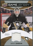 2012/13 Upper Deck Game Jerseys #GJBJ Brent Johnson E