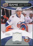 2012/13 Upper Deck Game Jerseys #GJBY Josh Bailey E