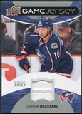 2012/13 Upper Deck Game Jerseys #GJDE Derick Brassard H