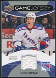 2012/13 Upper Deck Game Jerseys #GJDR Derek Stepan H