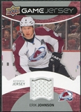 2012/13 Upper Deck Game Jerseys #GJEJ Erik Johnson H