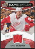2012/13 Upper Deck Game Jerseys #GJHO Tomas Holmstrom G