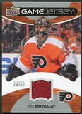 2012/13 Upper Deck Game Jerseys #GJIB Ilya Bryzgalov G