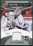 2012/13 Upper Deck Game Jerseys #GJJB Jonathan Bernier H